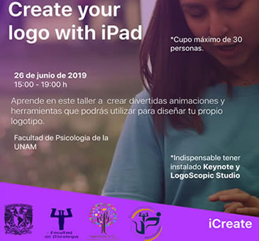 Taller Create your logo with iPad