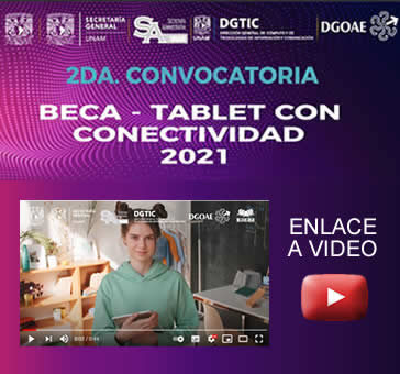 Video -Beca Tablet Con Conectividad 2021