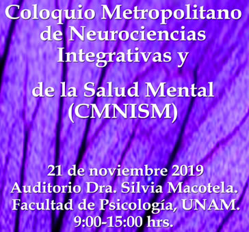 Coloquio Metropolitano de Neurociencias Integrativas…