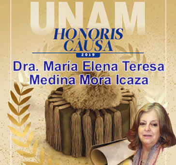 Dra. Medina Mora Honoris Causa