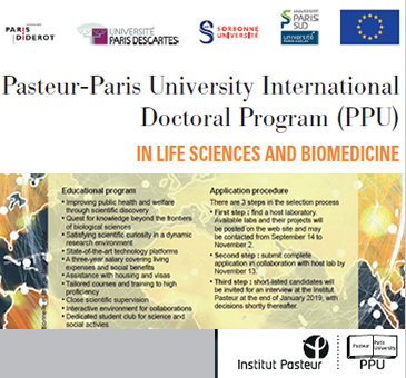 Pasteur-Paris University lnternational Doctoral Program